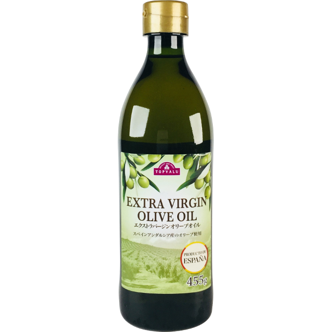 TOPVALU EXTRA VIRGIN OLIVE OIL 455g